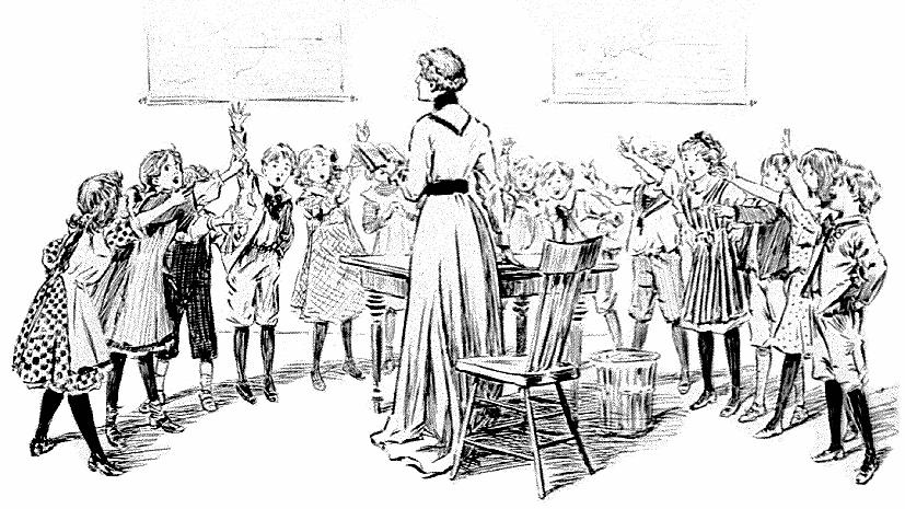 School Clip Art Victorian