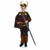 Viking Boy with Horns