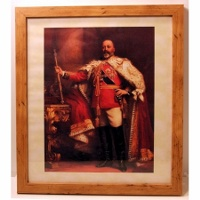 Edward VII Framed