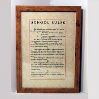 School Rules Framed